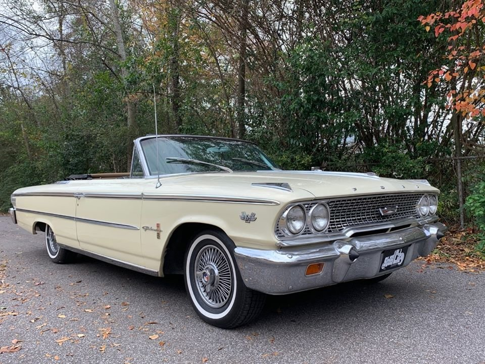 1963 Ford Galaxie 500 Convertible (Birmingham, AL) For Sale (picture 1 of 6)