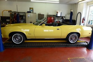 1973 Mercury Cougar XR7 Convertible Pebble Beach !