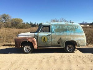 1955 Ford F100 Panel Van US Import classic pickup hot rod fo SOLD