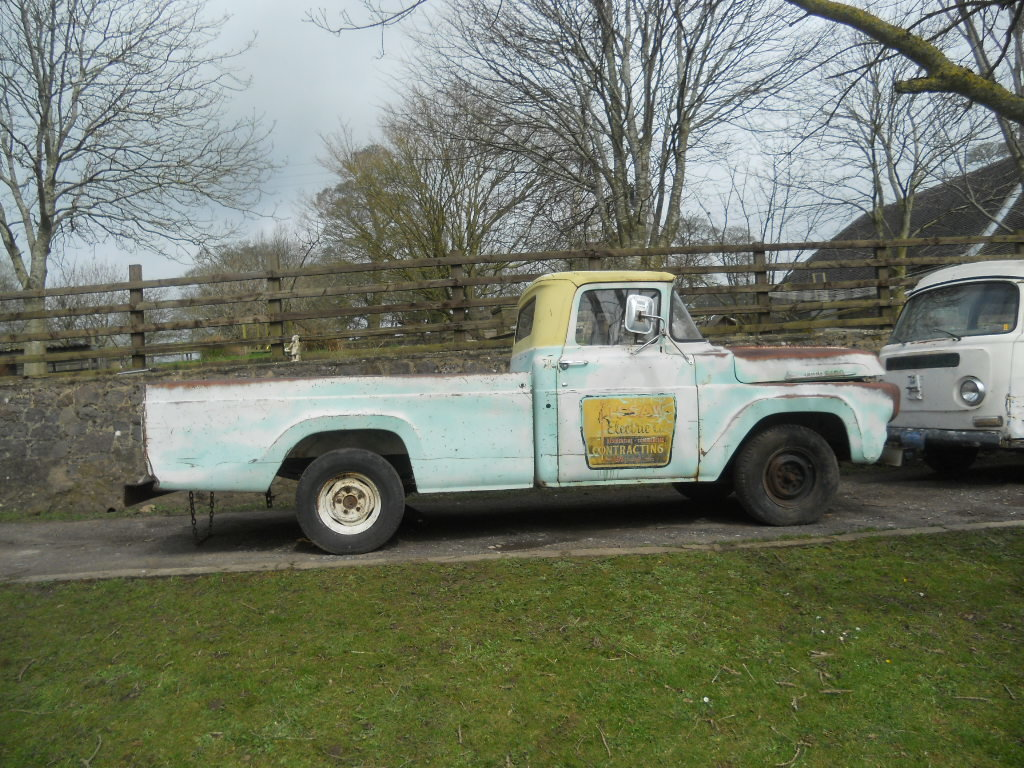 1958 Ford F100 pickup US Import classic pickup hot rod with  SOLD (picture 2 of 6)