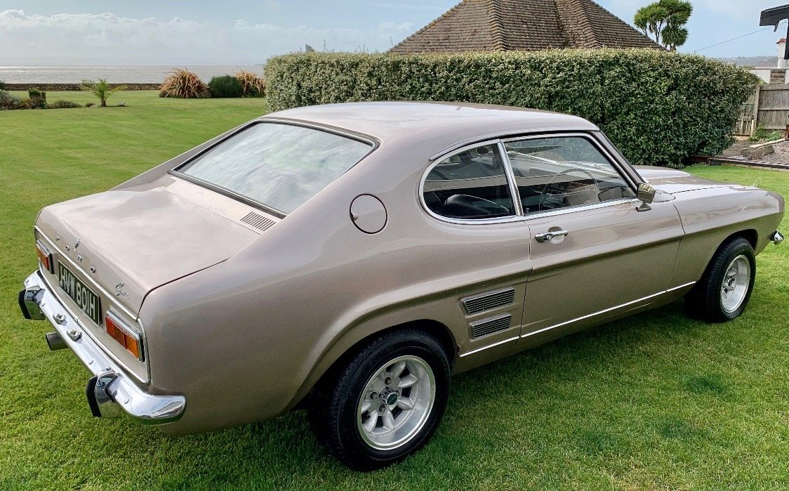 1970 Ford Capri 3000GT - RARE F1 Driven Car For Sale (picture 2 of 6)