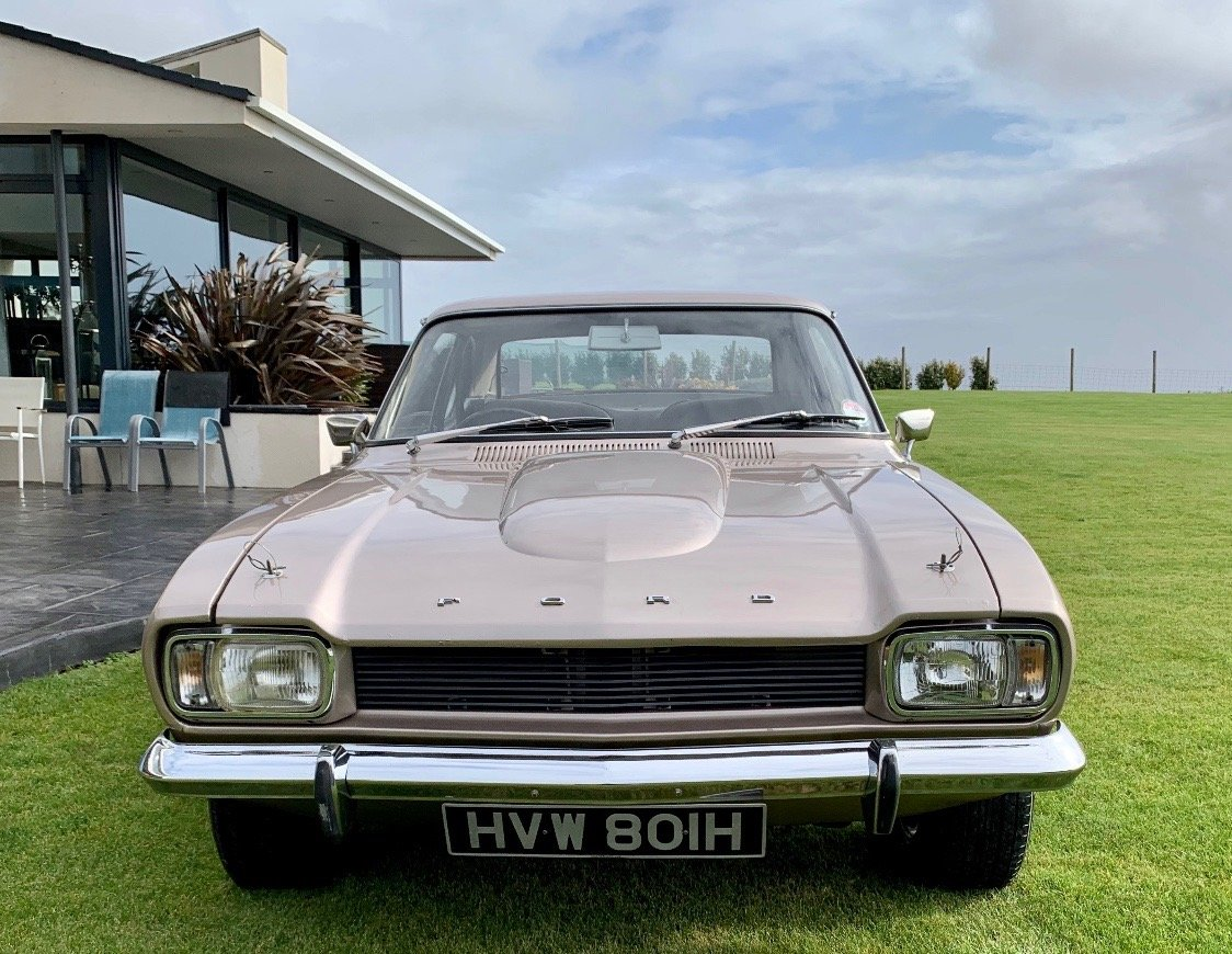 1970 Ford Capri 3000GT - RARE F1 Driven Car For Sale (picture 3 of 6)