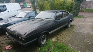 1982 Mk3 Ford Capri 2.0 S; project (with spares) For Sale