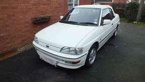 Ford Escort XR3i - current owner for 26yrs