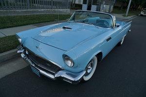 Restored 1957 Ford Thunderbird 312 V8 Convertible SOLD