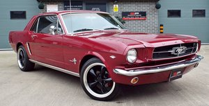 1965 Ford Mustang Coupe 4.7 V8 Auto - Vintage Burgundy For Sale