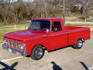 1964 Ford F100 Pickup Truck strong 302 4 spd Auto OD $24.5k For Sale