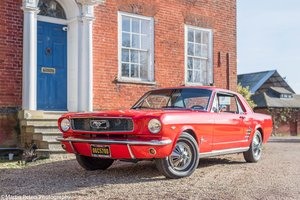 1966 Mustang 289ci V8 Coupe,