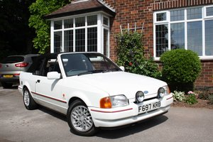 Picture of 1989 Ford XR3i Cabriolet 87000m O/hauled 2010, Excellent FSH SOLD
