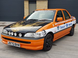 1992 Ford Orion 1.6 LX Manual. 2 Owners.