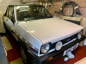 1983 Ford Fiesta XR2 Mk1 Fly Convertable 1.6L