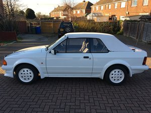 1985 Limited edition Escort Cabriolet se For Sale