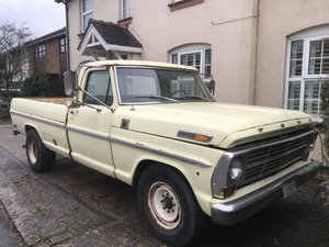 1969 Ford f250 custom pick up For Sale