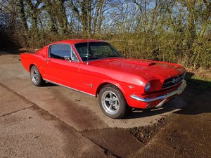 1965 Mustang Fastback, V8 Automatic detailed underside  For Sale