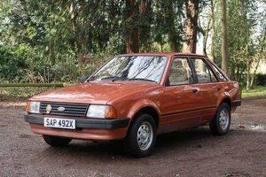 1982 Ford Escort Mk3 1.3L For Sale