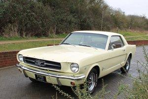 1965 Ford Mustang 289 V8 Auto. MOT & Warranty Inc.