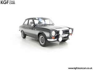 1974 A Rare Matching Numbers Factory Black Mk1 Ford Escort RS2000 SOLD