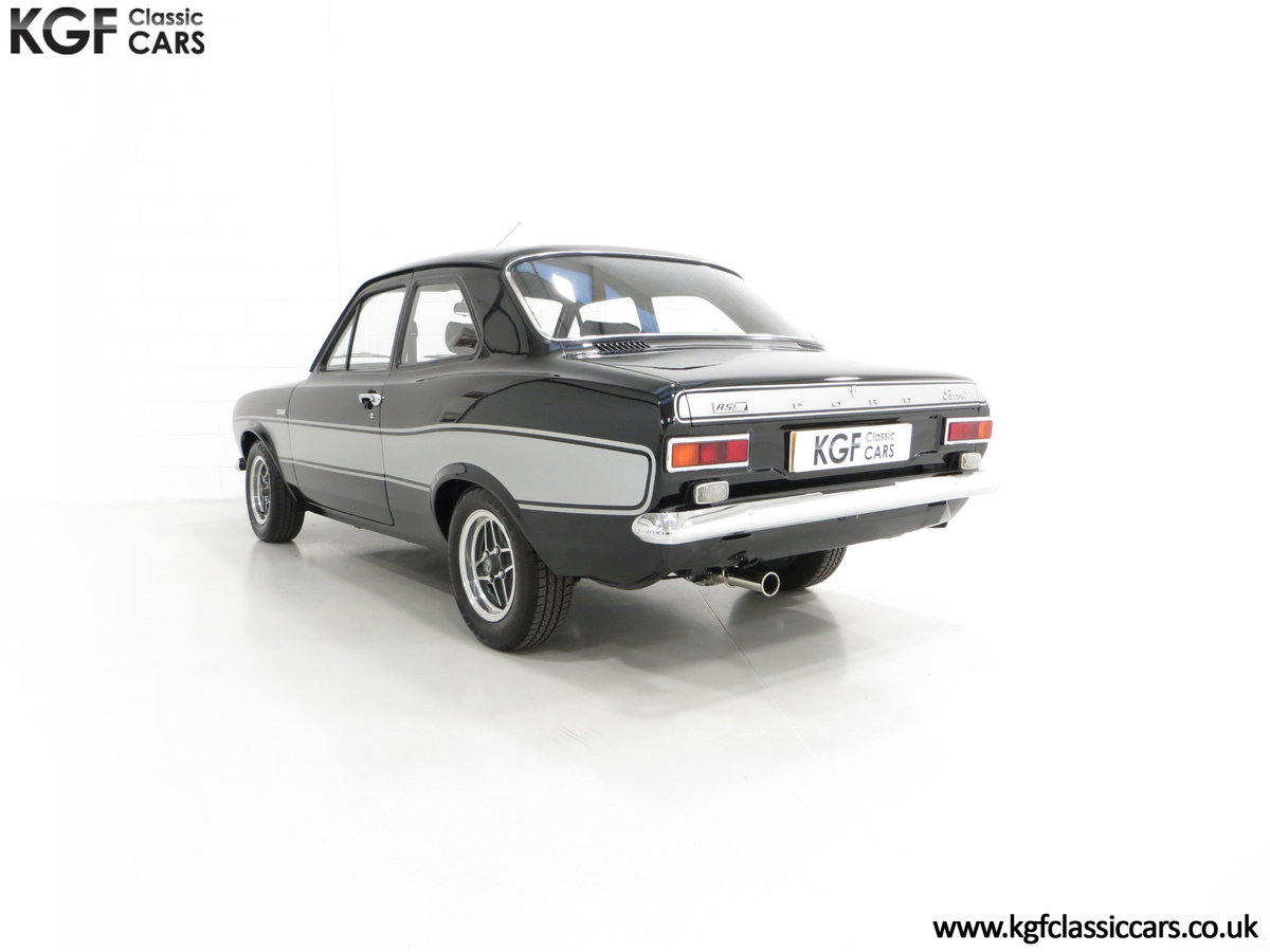 1974 A Rare Matching Numbers Factory Black Mk1 Ford Escort RS2000 SOLD (picture 4 of 6)