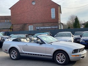 2007 FORD MUSTANG 4.0 V6 AUTOMATIC CONVERTIBLE - LEFT HAND DRIVE For Sale