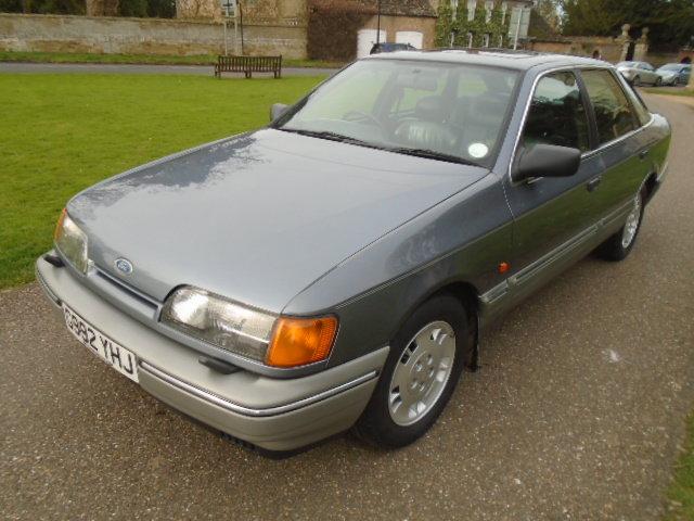 1989 Ford Granada Scorpio 2.9 For Sale (picture 2 of 6)