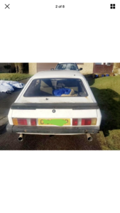 1986 Ford Capri 2.8 i special project