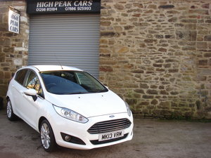 Picture of 2013 13 FORD FIESTA 1.0 ZETEC 5DR. 1 LADY OWNER. SOLD