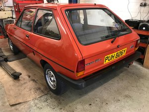 1982 Ford Fiesta Mk1 1.1L Stored For Many Years Very Original