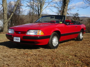 1987 Mustang Convertible 17K Mile, 2 owner, original