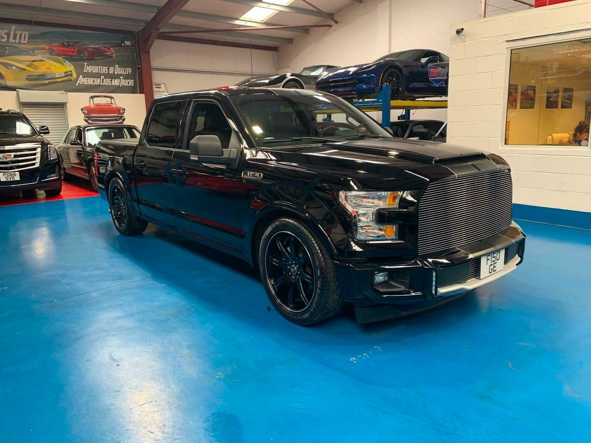 2017 FORD F150 SUPER CREW RAMPAGE EDITION  SOLD (picture 2 of 6)
