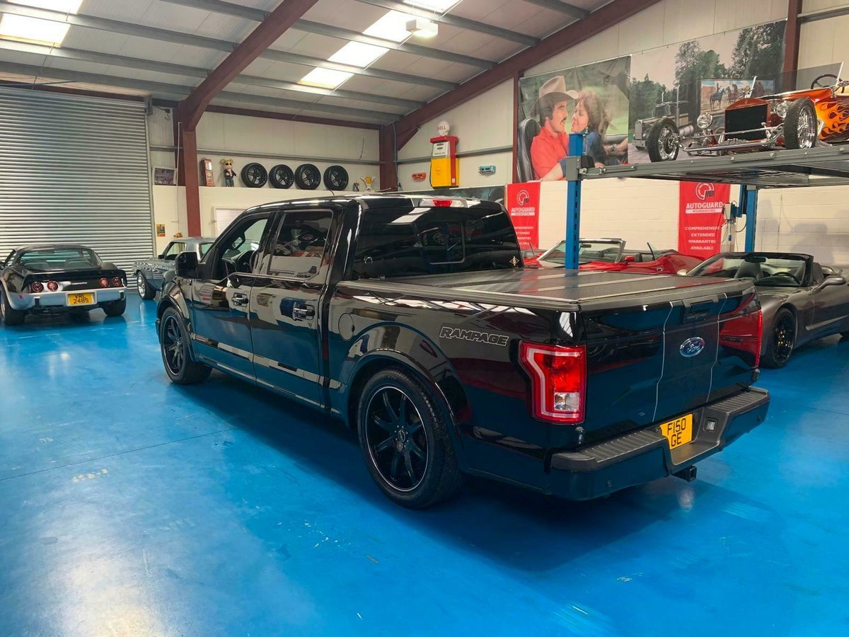 2017 FORD F150 SUPER CREW RAMPAGE EDITION  SOLD (picture 4 of 6)