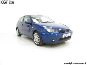 2004 A Preserved Ford Focus ST170 with 39,969 Miles SOLD