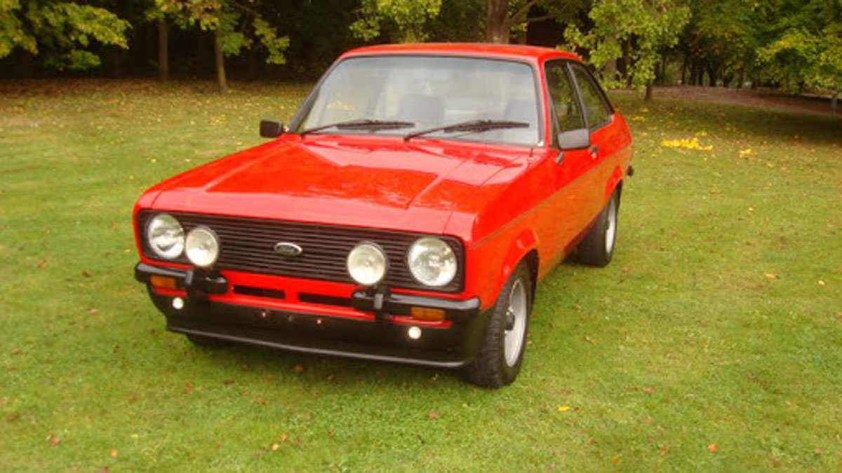 1978 Ford Escort Mark II 22 Feb 2020 For Sale by Auction (picture 1 of 4)