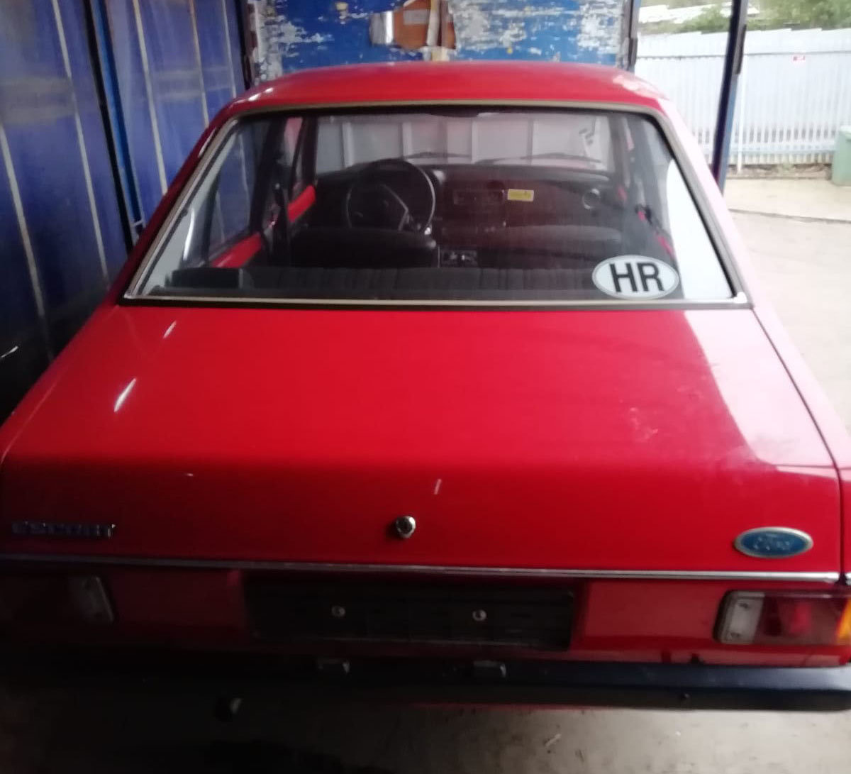 1978 Ford Escort Mark II 22 Feb 2020 For Sale by Auction (picture 4 of 4)