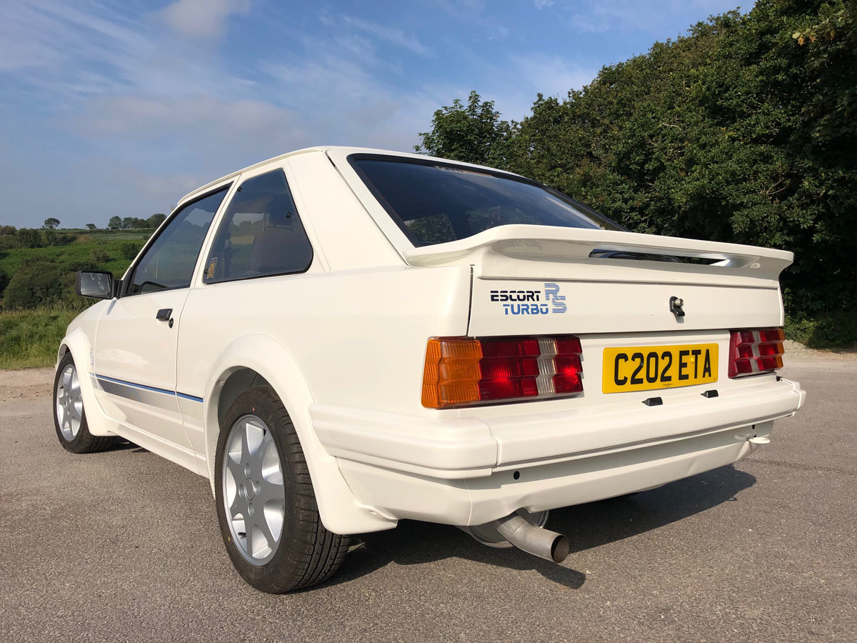 1985 Ford Escort RS Turbo Series 1 22 Feb 2020 For Sale by Auction (picture 2 of 6)