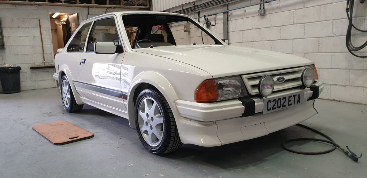 1985 Ford Escort RS Turbo Series 1 22 Feb 2020 For Sale by Auction (picture 3 of 6)