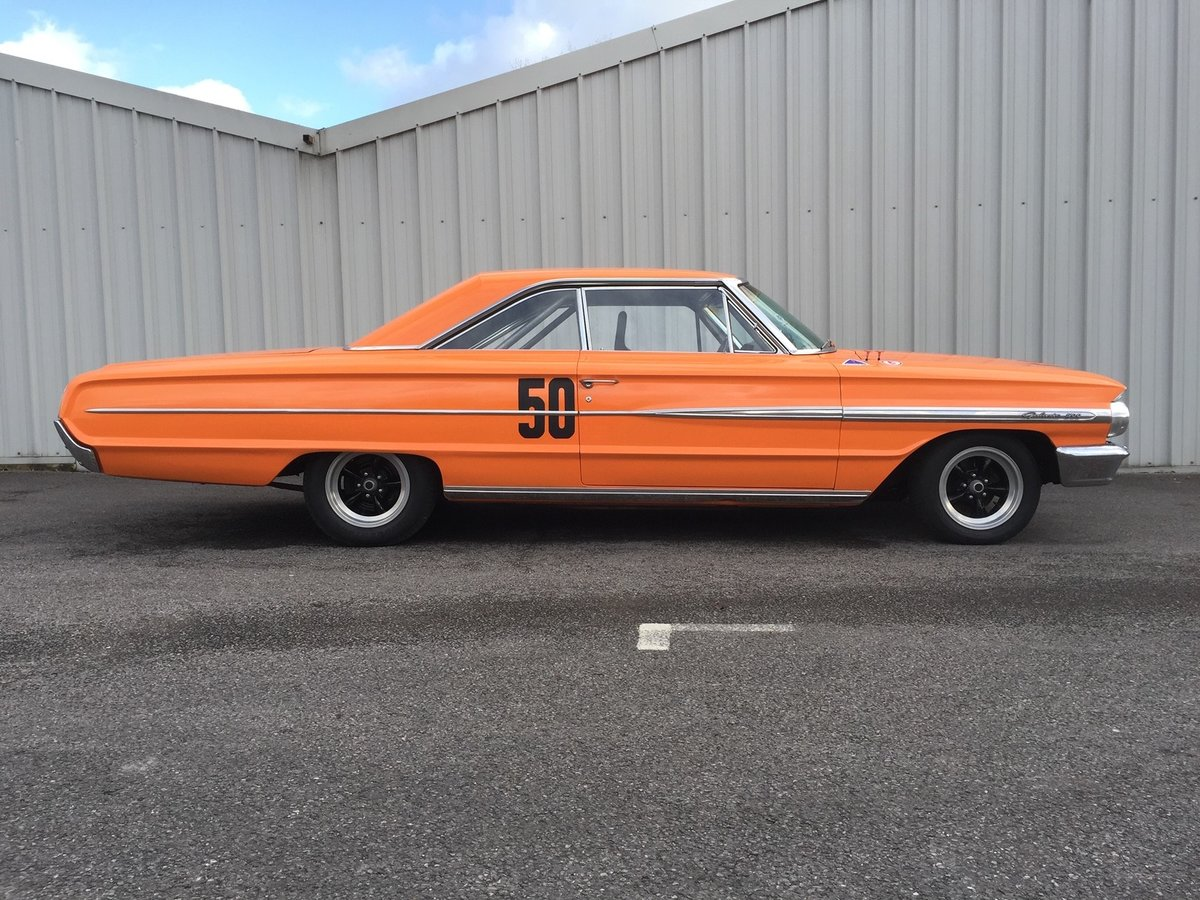 1964 Ford Galaxie 500 Race Car 22 Feb 2020 For Sale by Auction (picture 1 of 4)