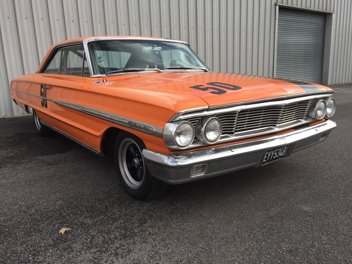 1964 Ford Galaxie 500 Race Car 22 Feb 2020 For Sale by Auction (picture 3 of 4)