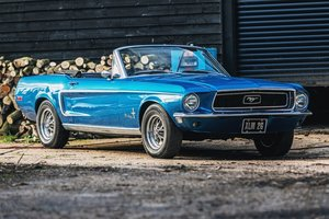 1968 Ford Mustang Convertible - Right-hand drive & UKreg '68 For Sale by Auction