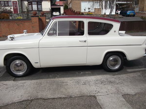 1967 Ford Anglia re built to highest standard. For Sale