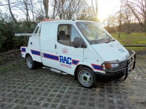 1989 Ford Transit Breakdown Truck For Sale by Auction
