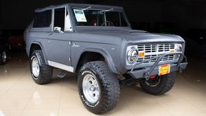 1967 Ford  Bronco 4 X 4 SUV 289-300-HP Auto Grey Mods $54.9k For Sale