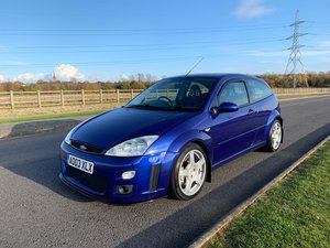2003 Ford Focus Rs mk1 Low miles and owners fsh