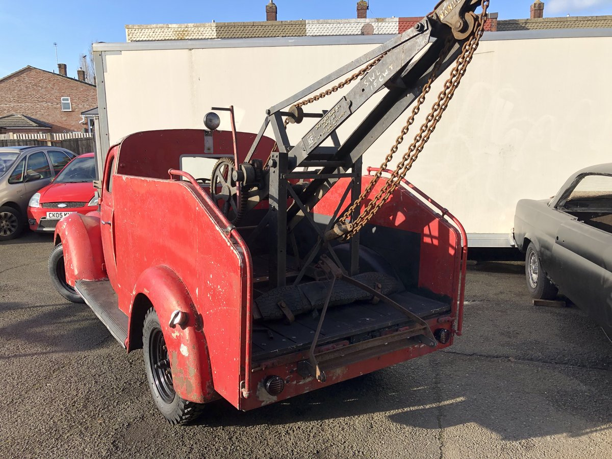 1937 Ford Recovery , Wrecker For Sale (picture 2 of 6)