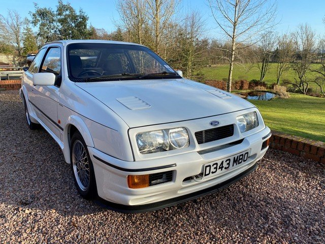 1986 FORD SIERRA RS COSWORTH For Sale by Auction (picture 1 of 6)