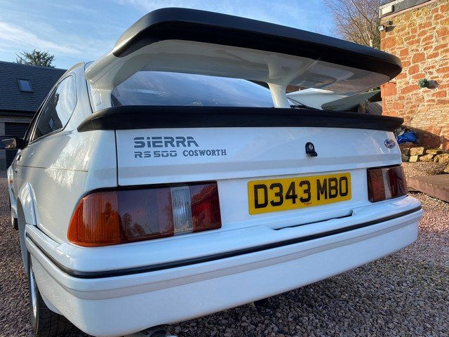 1986 FORD SIERRA RS COSWORTH For Sale by Auction (picture 2 of 6)