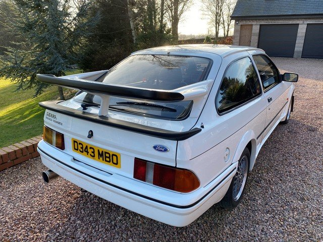 1986 FORD SIERRA RS COSWORTH For Sale by Auction (picture 6 of 6)