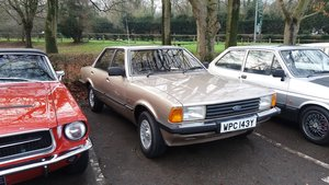 1982 Cortina mk5 2.0 Ghia For Sale