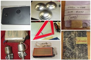 0000 FORD PARTS, MEMOROBILIA, handbooks, sales brochures for sale