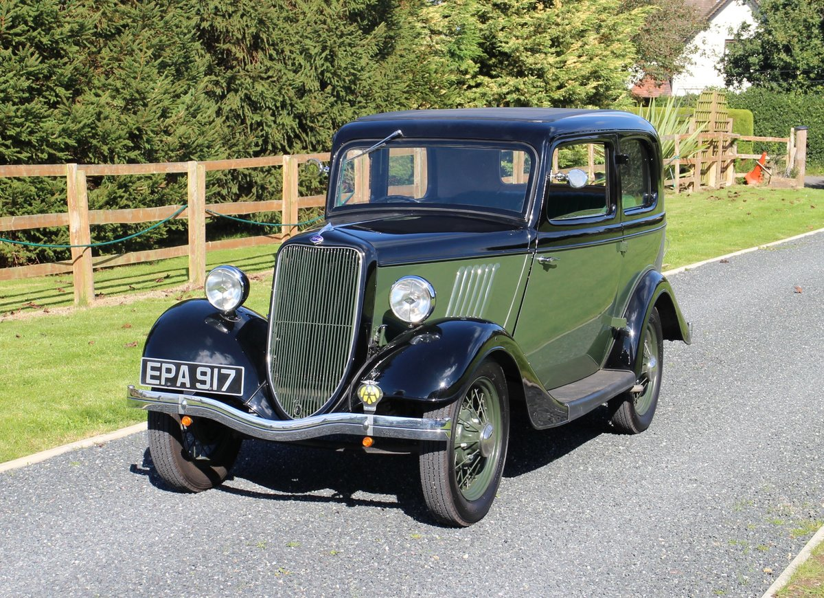 1934 Ford Model Y-Type Tudor Saloon SOLD (picture 4 of 6)