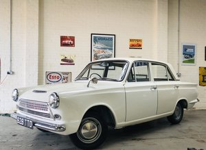 1963 FORD CORTINA CONSUL 1200 DELUXE MK1 - LOW OWNERS